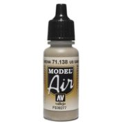 VALLEJO MODEL AIR ACRYLIC PAINT US SAND 71138