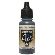 VALLEJO MODEL AIR ACRYLIC PAINT NATO BLACK 71251