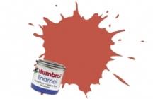 100   HUMBROL ENAMEL PAINT RED BROWN MATT