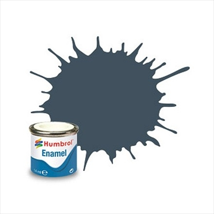 112   HUMBROL ENAMEL PAINT FIELD BLUE MATT