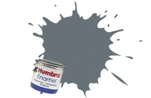 123   HUMBROL ENAMEL PAINT DARK SEA GREY SATIN