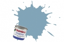128   HUMBROL ENAMEL PAINT US GREY SATIN