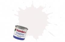 130   HUMBROL ENAMEL PAINT WHITE SATIN