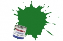 131   HUMBROL ENAMEL PAINT MID GREEN SATIN