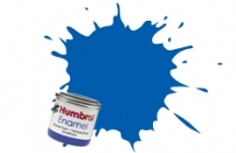 14   HUMBROL ENAMEL PAINT FRENCH BLUE GLOSS