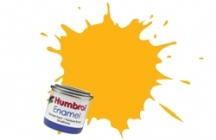 154   HUMBROL ENAMEL PAINT INSIGNIA YELLOW MATT