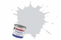 196   HUMBROL ENAMEL PAINT LIGHT GREY SATIN