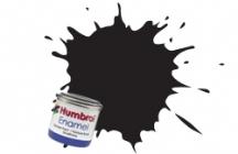 21   HUMBROL ENAMEL PAINT BLACK GLOSS