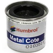 27004   HUMBROL ENAMEL PAINT METAL COTE GUN METAL