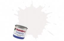 34   HUMBROL ENAMEL PAINT WHITE MATT