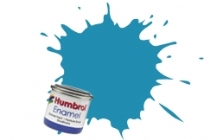 48   HUMBROL ENAMEL PAINT MEDITEREANEAN BLUE GLOSS
