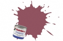 73   HUMBROL ENAMEL PAINT WINE RED MATT