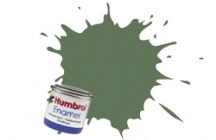 80   HUMBROL ENAMEL PAINT GRASS GREEN MATT