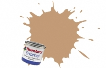 94   HUMBROL ENAMEL PAINT BROWN YELLOW MATT