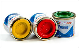 HUMBROL ENAMEL PAINTS