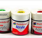 HUMBROL ACRYLIC PAINTS