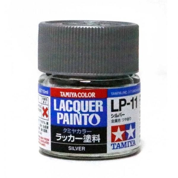 LP11 TAMIYA LACQUER PAINT   SILVER