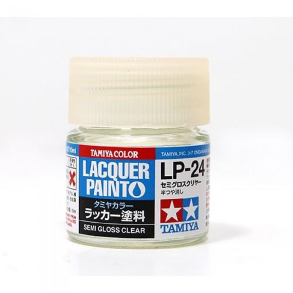 LP24 TAMIYA LACQUER PAINT   SEMI GLOSS