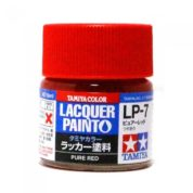 LP7 TAMIYA LACQUER PAINT   PURE RED