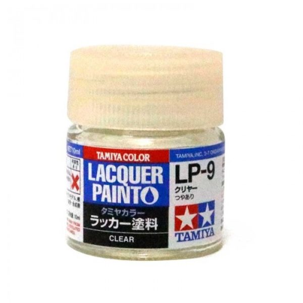 LP9 TAMIYA LACQUER PAINT   CLEAR