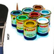 PAINTS & BRUSHES