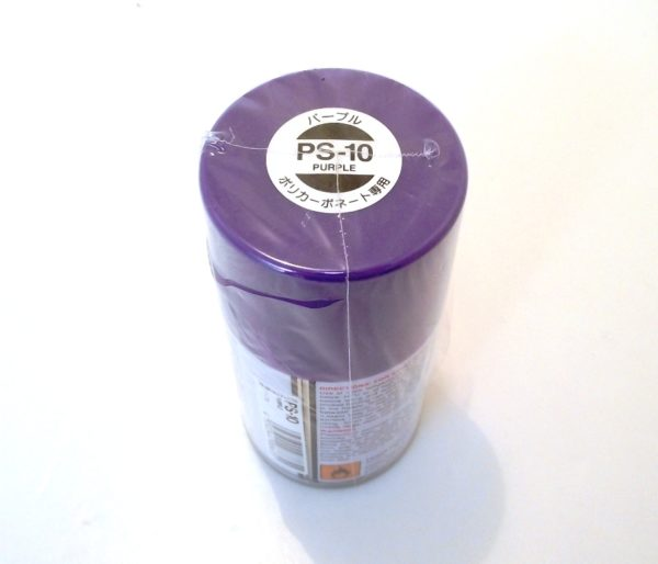 PS-10   TAMIYA POLYCARBONATE PAINT PURPLE
