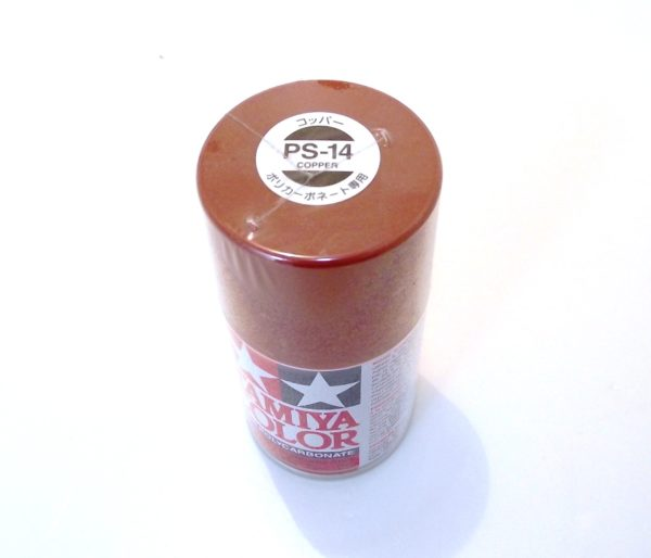 PS-14   TAMIYA POLYCARBONATE PAINT COPPER