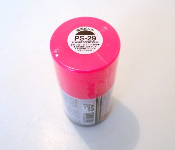 PS-29   TAMIYA POLYCARBONATE PAINT FLUOR PINK