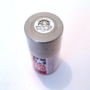 PS-36   TAMIYA POLYCARBONATE PAINT TRANSLUCENT SILVER