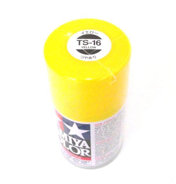 TS-16   TAMIYA ACRYLIC SPRAY PAINT  YELLOW