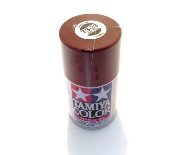 TS-33   TAMIYA ACRYLIC SPRAY PAINT  DULL RED
