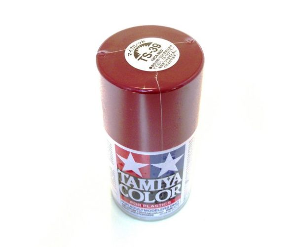 TS-39   TAMIYA ACRYLIC SPRAY PAINT  MICA RED