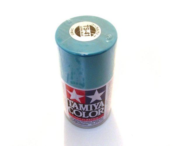 TS-41   TAMIYA ACRYLIC SPRAY PAINT  CORAL BLUE