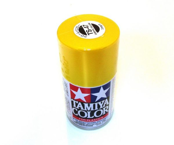 TS-47   TAMIYA ACRYLIC SPRAY PAINT  CHROME YELLOW