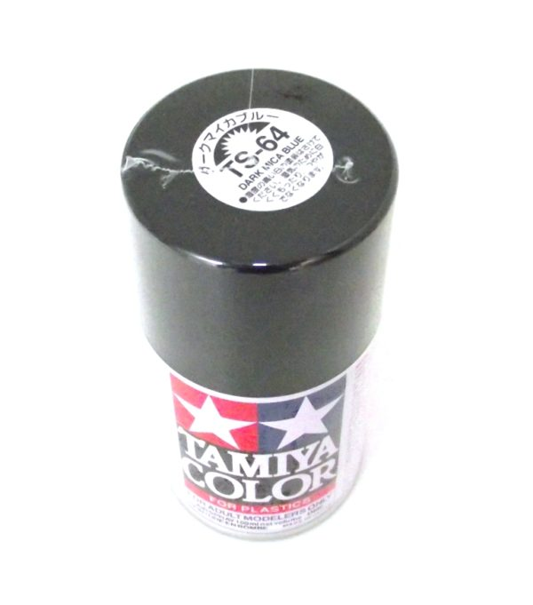 TS-64   TAMIYA ACRYLIC SPRAY PAINT  DARK MICA BLUE