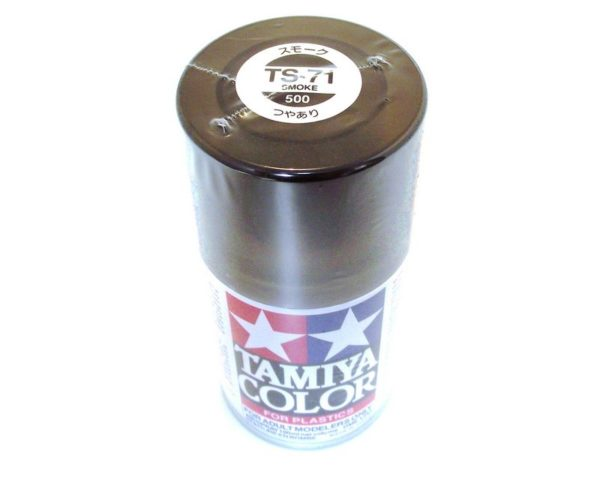TS-71   TAMIYA ACRYLIC SPRAY PAINT  SMOKE