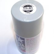 TS-81   TAMIYA ACRYLIC SPRAY PAINT  BR.NAVY GRAY