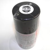TS-82   TAMIYA ACRYLIC SPRAY PAINT  BLACK RUBBER