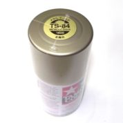 TS-84   TAMIYA ACRYLIC SPRAY PAINT  METALLIC GOLD