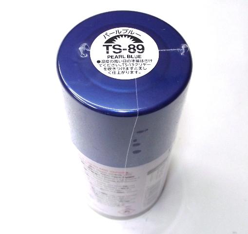 TS-89   TAMIYA ACRYLIC SPRAY PAINT  PEARL BLUE