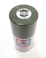 TS-91   TAMIYA ACRYLIC PAINT DARK GREEN (JGSDF)