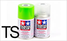 TAMIYA SPRAY TS (Plastics)