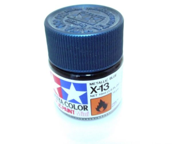 X-13   TAMIYA ACRYLIC PAINT METALLIC BLUE