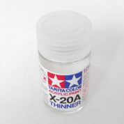 TAMIYA THINNERS X20A  LARGE 46ML