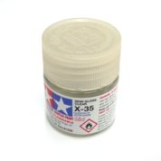 X-35   TAMIYA ACRYLIC PAINT SEMI GLOSS CLEAR