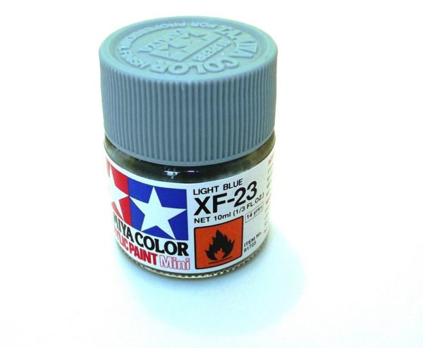 XF-23   TAMIYA ACRYLIC PAINT LIGHT BLUE