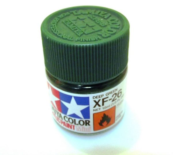 XF-26   TAMIYA ACRYLIC PAINT DEEP GREEN