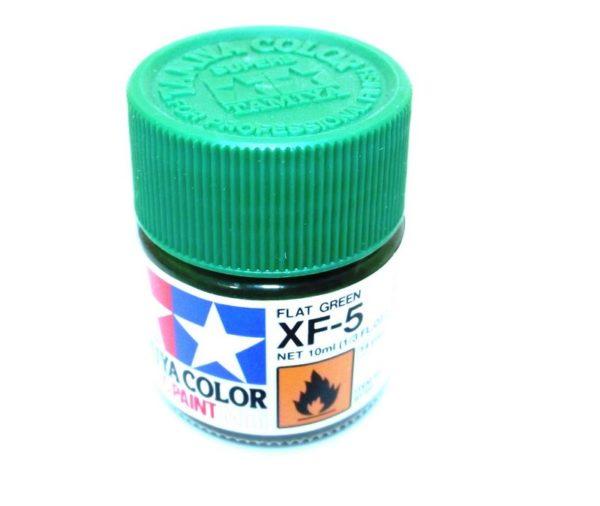 XF-5   TAMIYA ACRYLIC PAINT FLAT GREEN