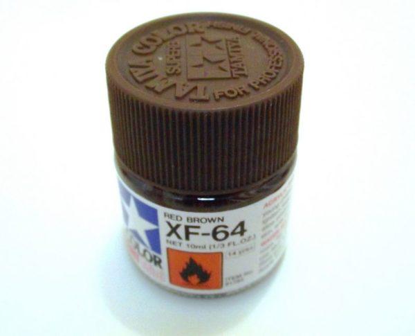 XF-64   TAMIYA ACRYLIC PAINT RED BROWN
