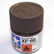 XF-68   TAMIYA ACRYLIC PAINT NATO BROWN
